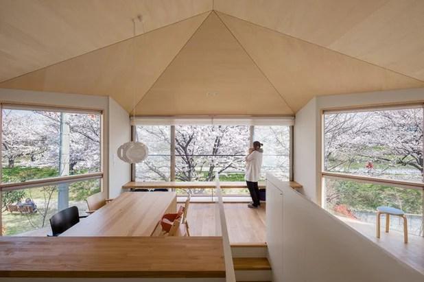 Made in Japan: 4 schlichte Häuser mit aufregendem Landschaftsbezug