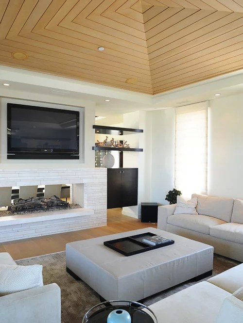 living room mounted tv ideas big wall clocks for above fireplace | houzz