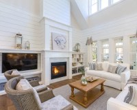 Shiplap Fireplace Ideas & Photos | Houzz