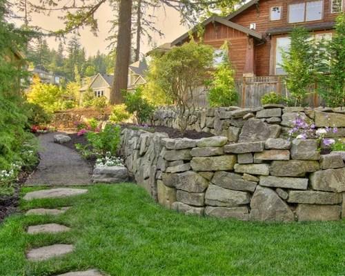 rock retaining wall ideas
