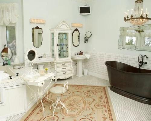 shabby chic vanity | houzz
