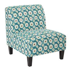 turquoise accent chairs in pool 50 most popular armchairs and for 2019 houzz osp home furnishings magnolia chair geo dot teal