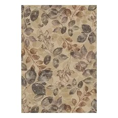 Country and Floral Eclipse Area Rug Rectangle Multi 5'3x7'7