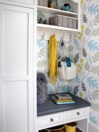 Entryway Wallpaper | Houzz