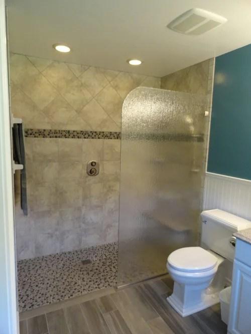 Custom Glass Spray Panels Splash Guards and Fixed Panel Shower Units