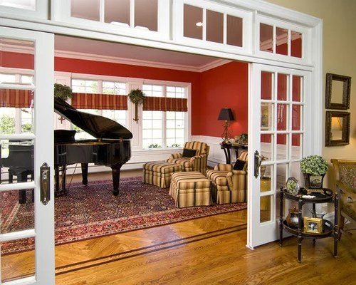Sliding French Doors With Transom Home Design Ideas