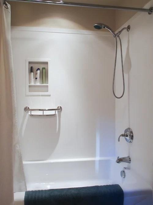 acrylic kitchen cabinets 2x3 rug fiberglass tub shower | houzz