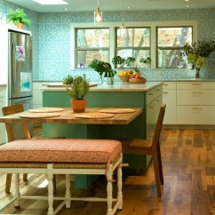 Budget Kitchen Cabinets Discount Chairs Table Attached To Island | Houzz