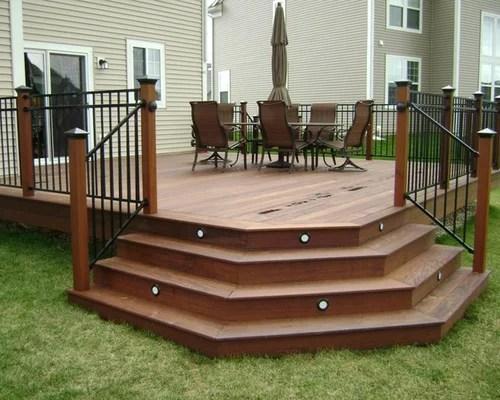 Deck Stairs Design Ideas