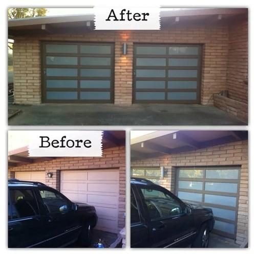Diy Glass Garage Doors For 500