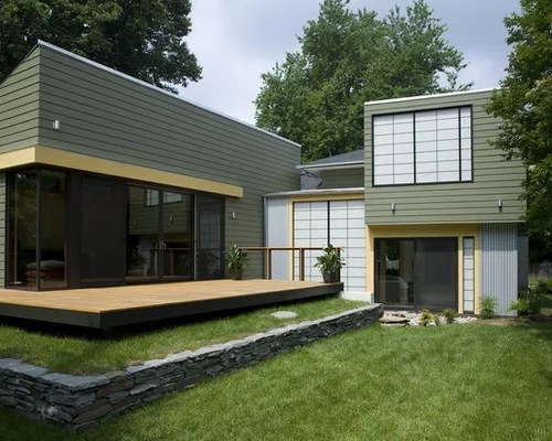 Deck Without Railing  Houzz