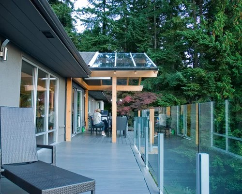 Glass Roof Over Deck Home Design Ideas Pictures Remodel