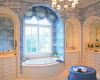 French Country Wallpaper Home Design Ideas, Pictures ...