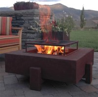Raised Fire Pit | Houzz