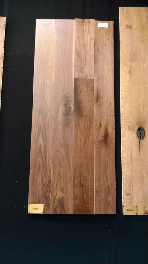 How To Match Stair Treads To Prefinished Engineered Walnut Floors | Prefinished Wood Stair Treads | Hickory | Risers | Natural Red | Red Oak Stair | Stair Nosing