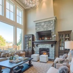 Traditional Living Rooms Sofa Sets For Small 75 Most Popular Room Design Ideas 2019 Inspiration A Mid Sized Timeless Open Concept Dark Wood Floor Remodel In
