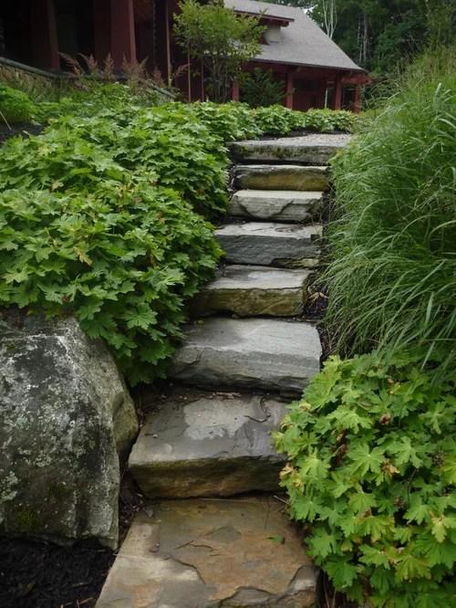 Garden Steps Houzz
