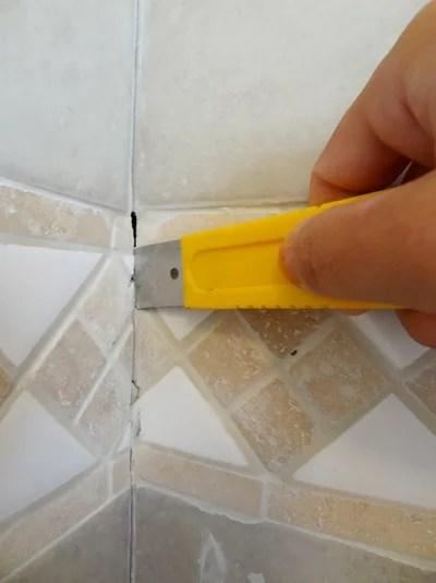 Quick Fix Repair Cracked Bathroom Grout