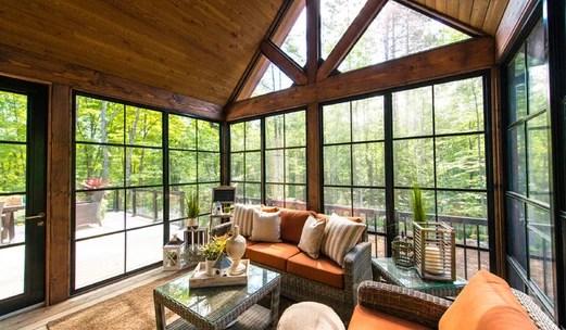 Convert Front Porch Sun Room