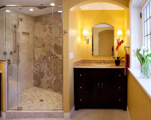 Tile Standing Shower Home Design Ideas Pictures Remodel