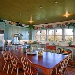 1950s Kitchen Table Handles For Cabinets 再见 岛屿 你好 餐桌 长装网 长沙装修平台 伯特 麦克劳克林 卡塞拉建筑师 Plc 一些房主认为相当表有助于一个温暖和友好的气氛中多于一个四四方方的岛 引入一个大桌子的中心厨房 欢迎亲朋好友聚集和徘徊