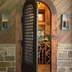 Kitchen Cabinets Atlanta Apron Sinks Wrought Iron Wine Cellar Door | Houzz