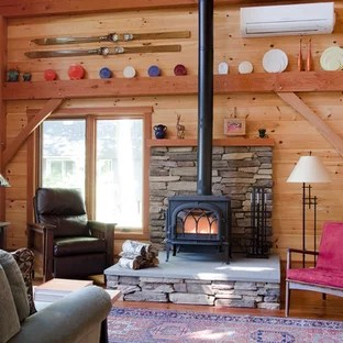 living room designs with wood stove very small tv 75 most popular rustic a design ideas inspiration for formal and open concept medium tone floor remodel in