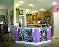 Contemporary Kitchen Backsplash and Murals