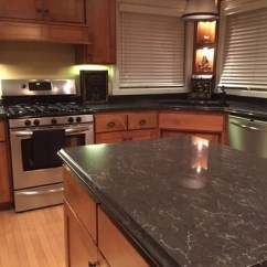 Kitchen Remodel Hawaii Refinishing Cabinets White Quartz Countertops
