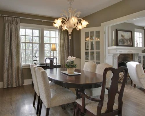 houzz living room paint glass top tables taupe dining |