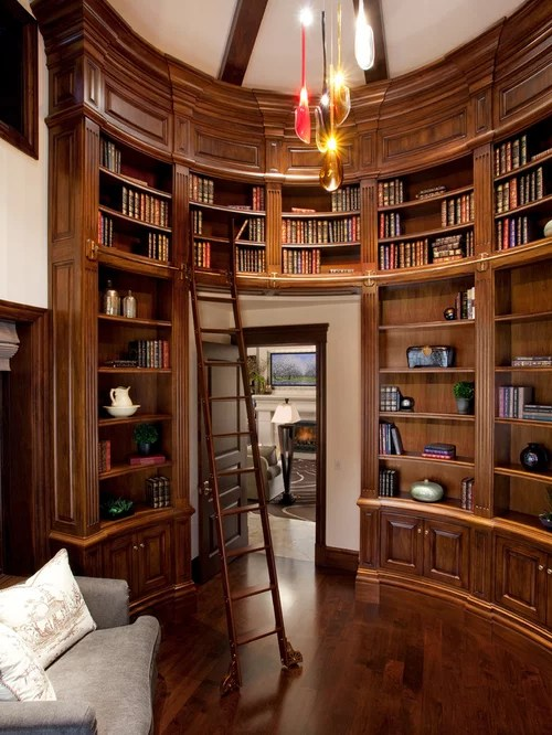 Curved Bookcase  Houzz