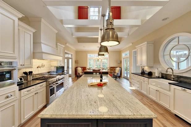 kitchen counters walnut island countertops granite for incredible longevity beach style by echelon custom homes