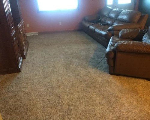 grey carpet in living room white and aqua mohawk smartstrand silk style- hudson landing color ...