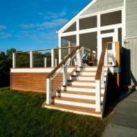 75 Most Popular Transitional Backyard Deck Design Ideas ...