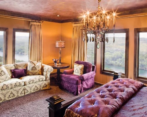 Gold Themed Bedroom Ideas Minimalist Design Royal Purple And Interiors As