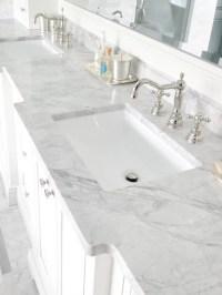 Carrara Marble Bathroom | Houzz