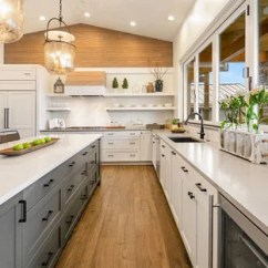 Beach Kitchen Cabinets Jeffrey Alexander Island 75 Most Popular Style Design Ideas For 2019 Stylish Inspiration A L Shaped Medium Tone Wood