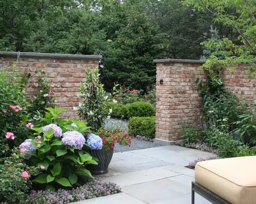 Brick Garden Wall Houzz