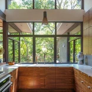 75 Most Popular Small Midcentury Modern Kitchen Design