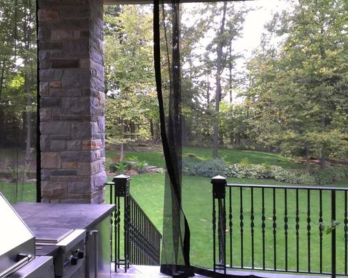 Superb Outdoor Curtains Mosquito Drapes Porch Screens