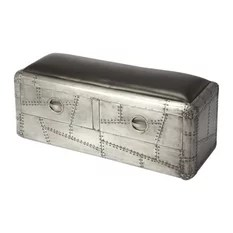 Butler Yeager Aviator Storage Bench