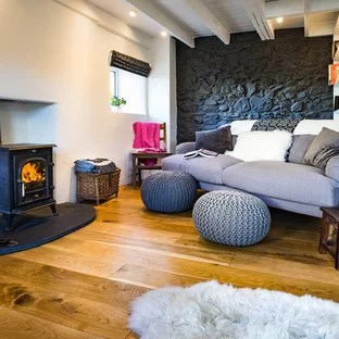 living room with log burner wood paneling 75 most popular a burning stove design ideas inspiration for small coastal open plan in other white walls light