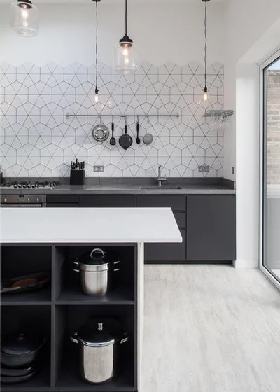 Scandinavian Kitchen by Trevor Brown Architect