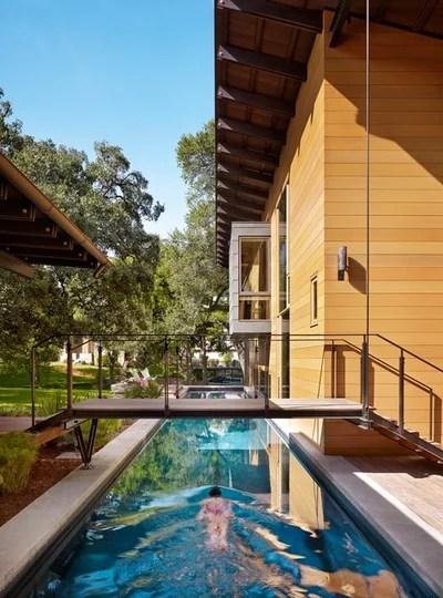 Contemporáneo Piscina by Lake Flato Architects