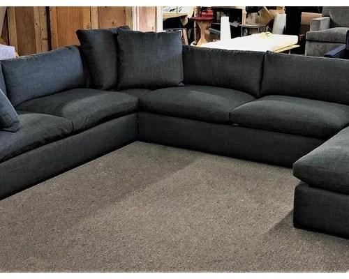 custom sectional sofa nautical pillows claudia and