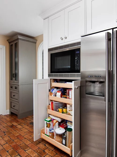 Microwave Storage Home Design Ideas Pictures Remodel And