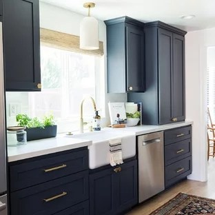 Black Kitchen Cabinets Houzz