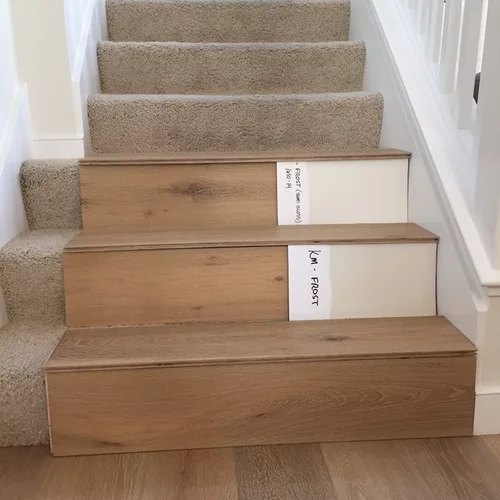 Stairs Hardwood Or Painted Risers   Carpet Treads For Hardwood Stairs   Walmart Com   Anti Slip   Staircase Makeover   Walmart   Stair Runners