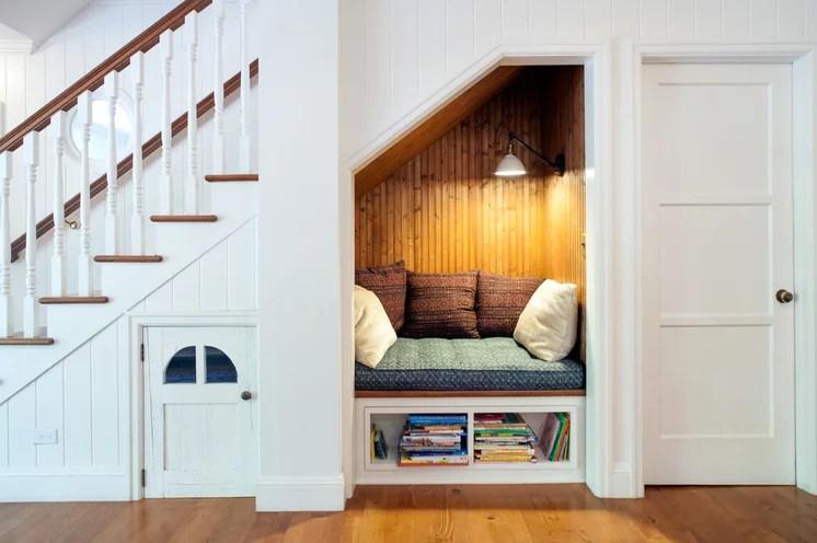 Farmhouse Staircase by JWT Associates