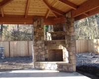 Corner Outdoor Fireplace | Houzz